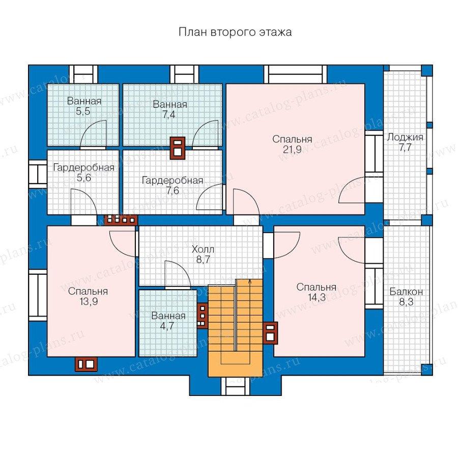 План 2-этажа проекта 40-31