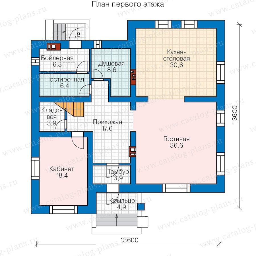 План 2-этажа проекта 59-95C