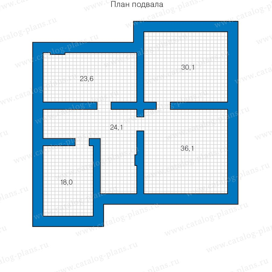План 1-этажа проекта 59-95C