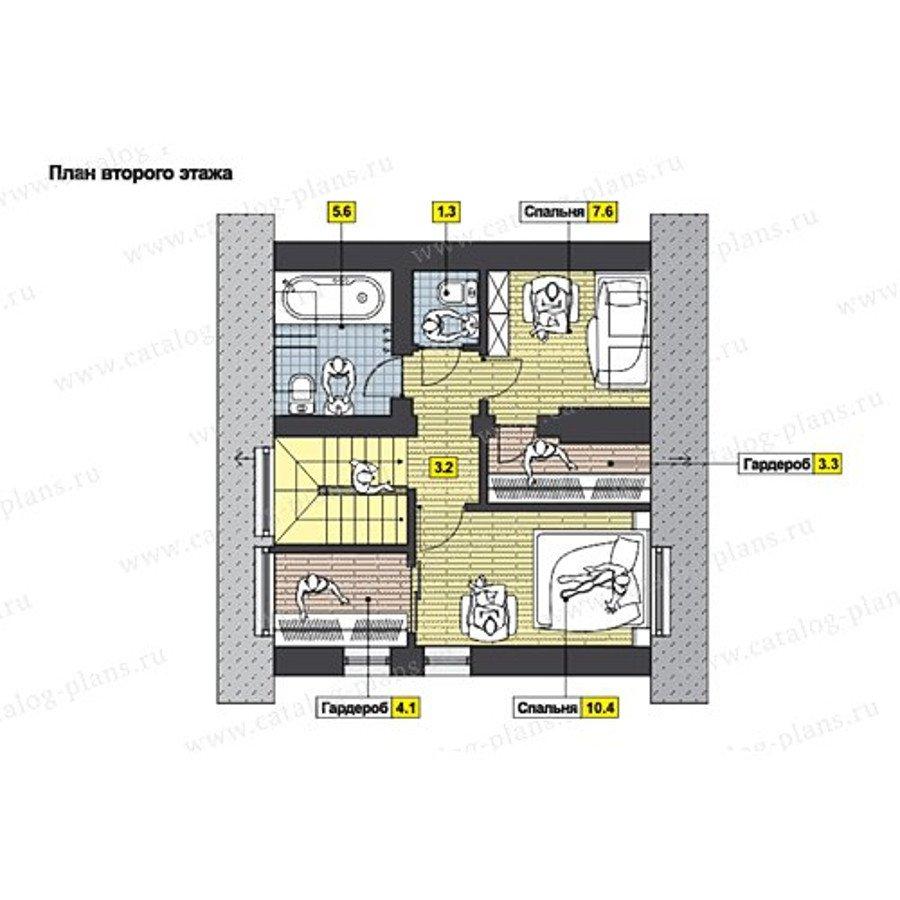 План 3-этажа проекта 59-66A