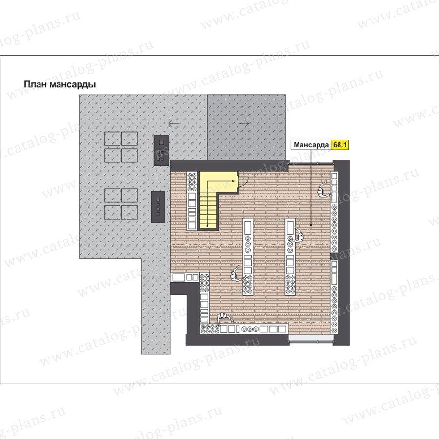 План 4-этажа проекта 49-88B