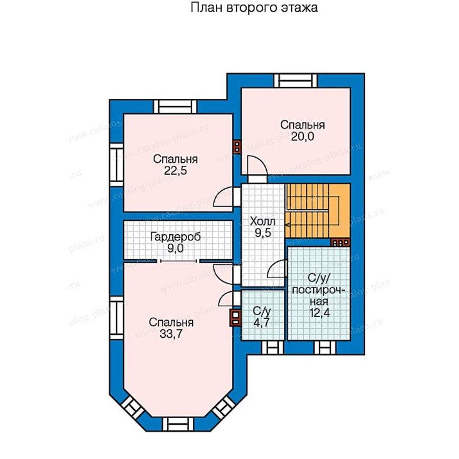 План 2-этажа проекта 40-35
