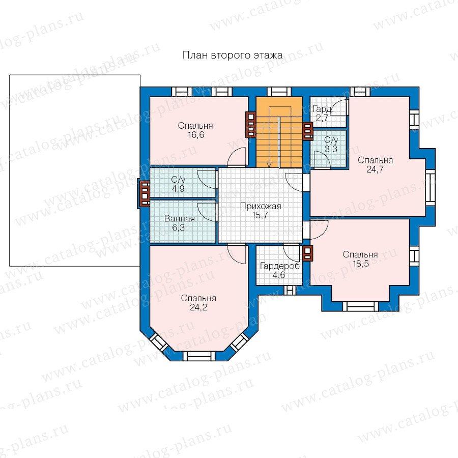 План 2-этажа проекта 40-42G