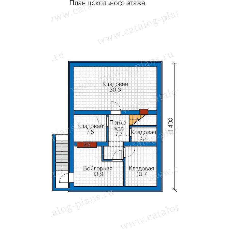 План 1-этажа проекта 57-73K
