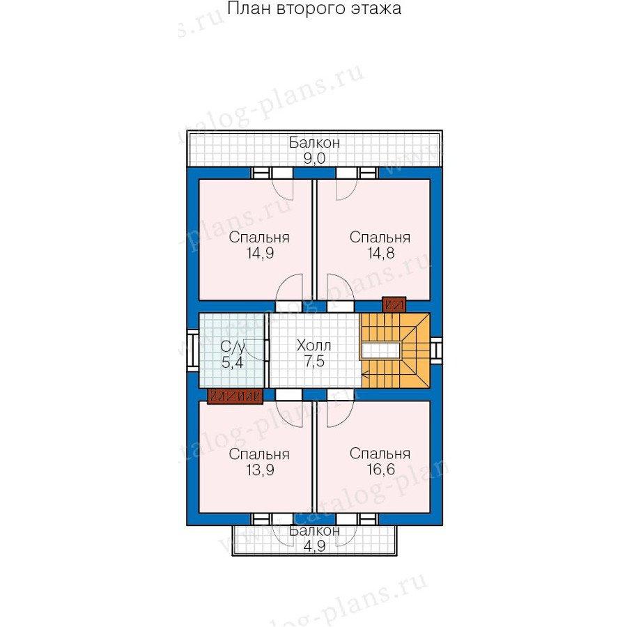 План 3-этажа проекта 57-73K