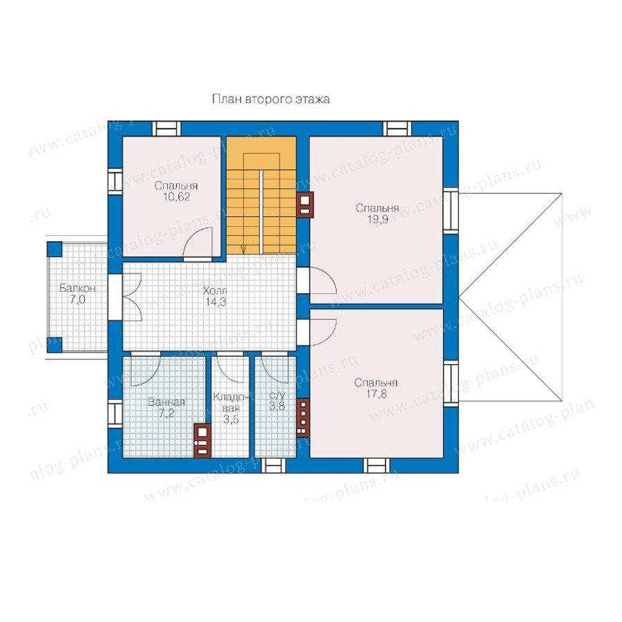 План 2-этажа проекта 57-05K