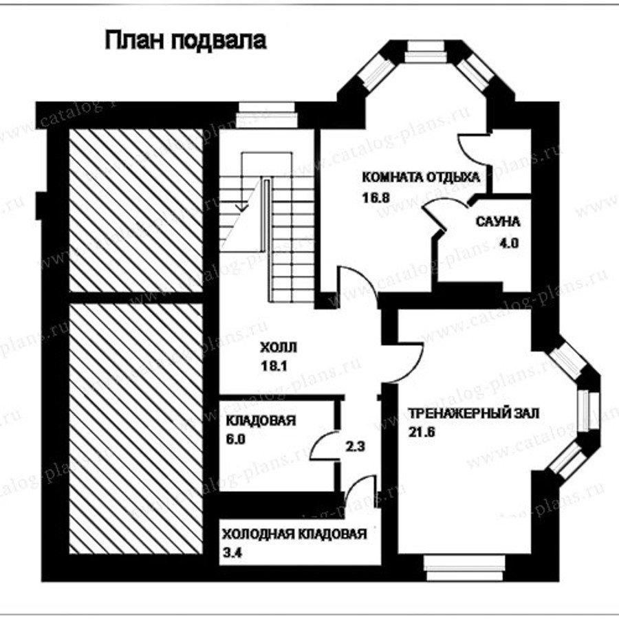 План 1-этажа проекта 49-83A