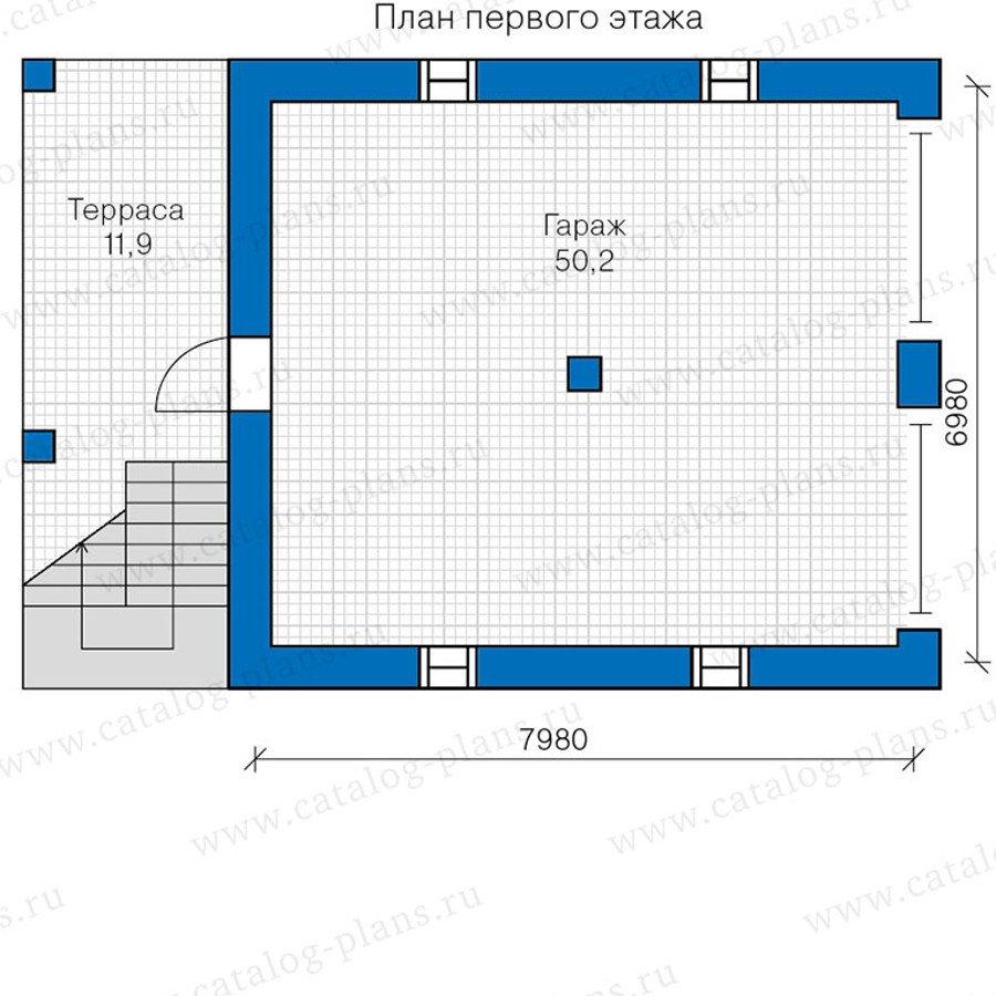 План 2-этажа проекта 48-18