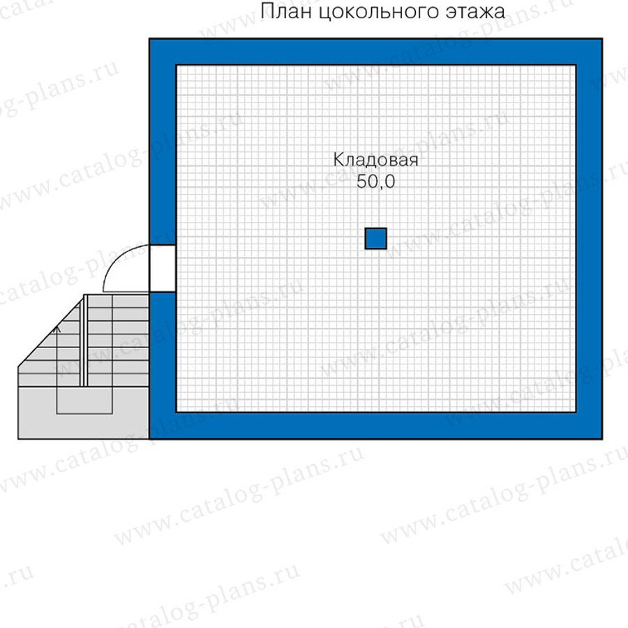 План 1-этажа проекта 48-18