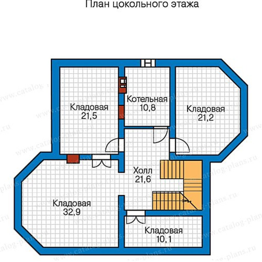План 1-этажа проекта 48-51