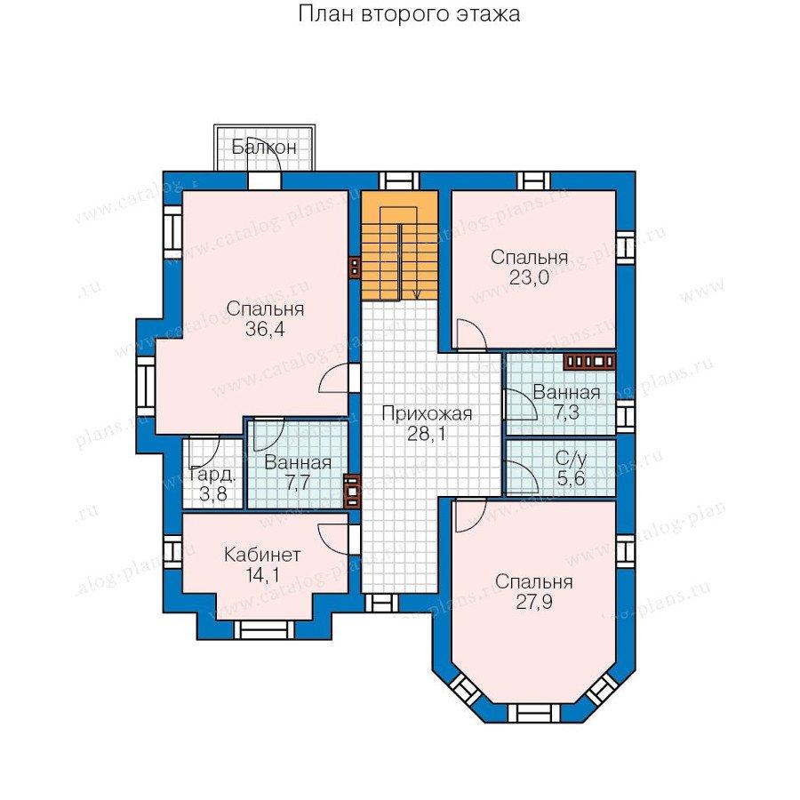 План 2-этажа проекта 48-31