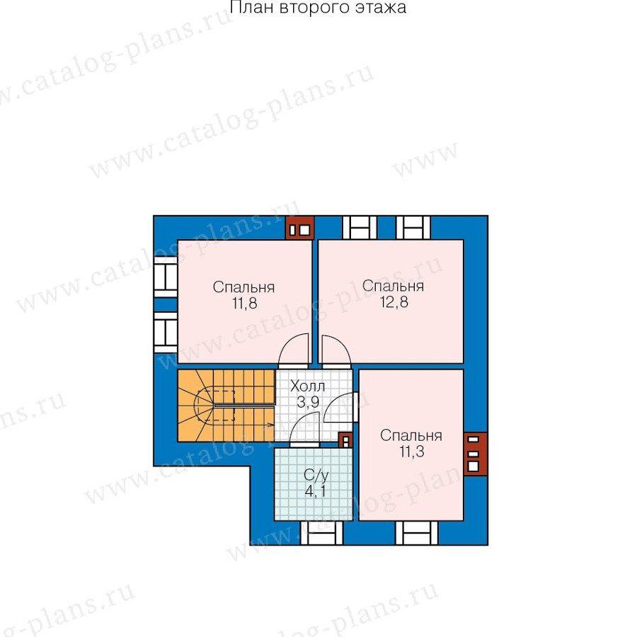 План 2-этажа проекта 48-20B