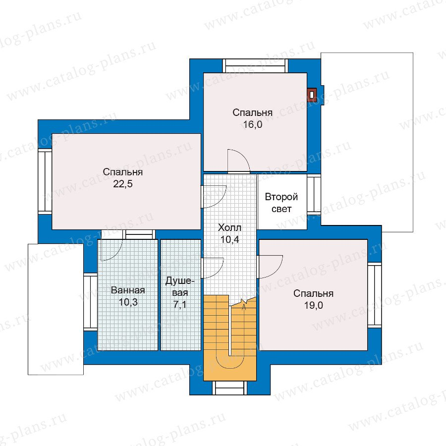 План 2-этажа проекта 47-06