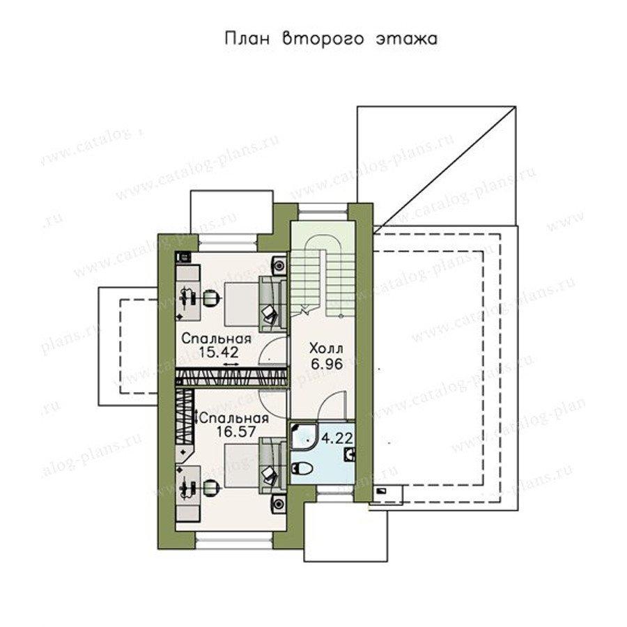 План 2-этажа проекта 47-05