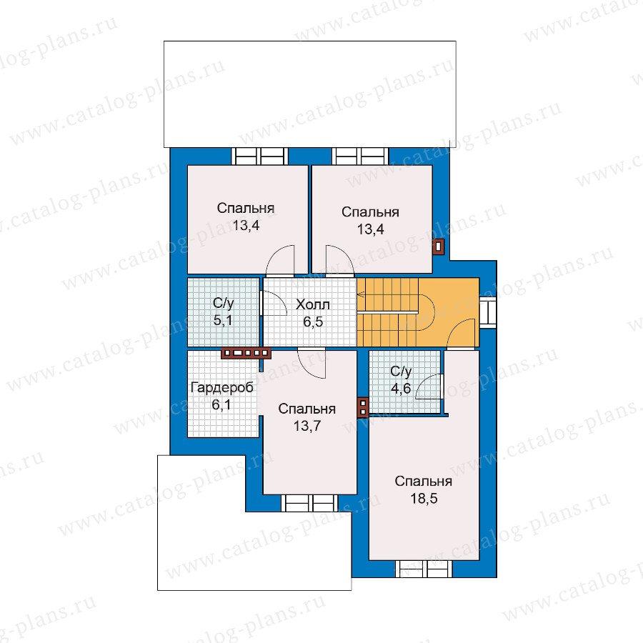 План 2-этажа проекта 47-03