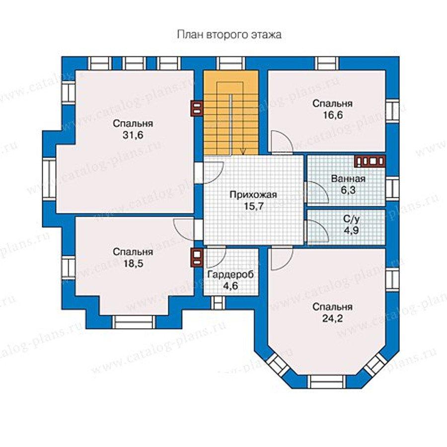 План 2-этажа проекта 40-11L