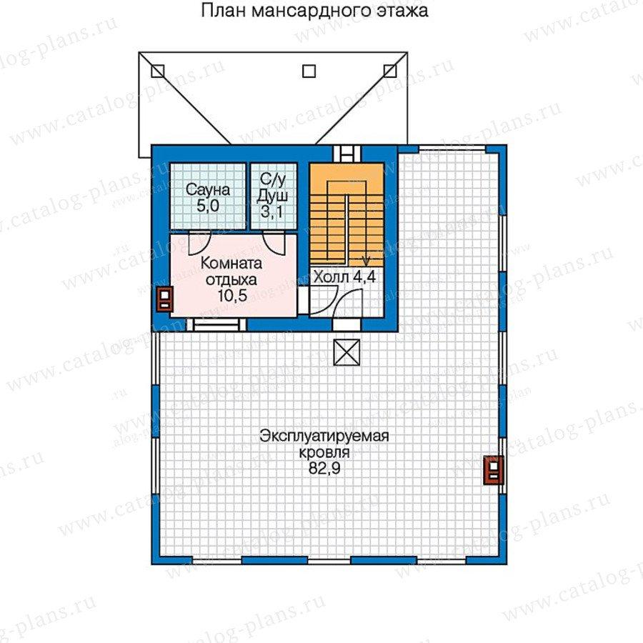 План 3-этажа проекта 47-44