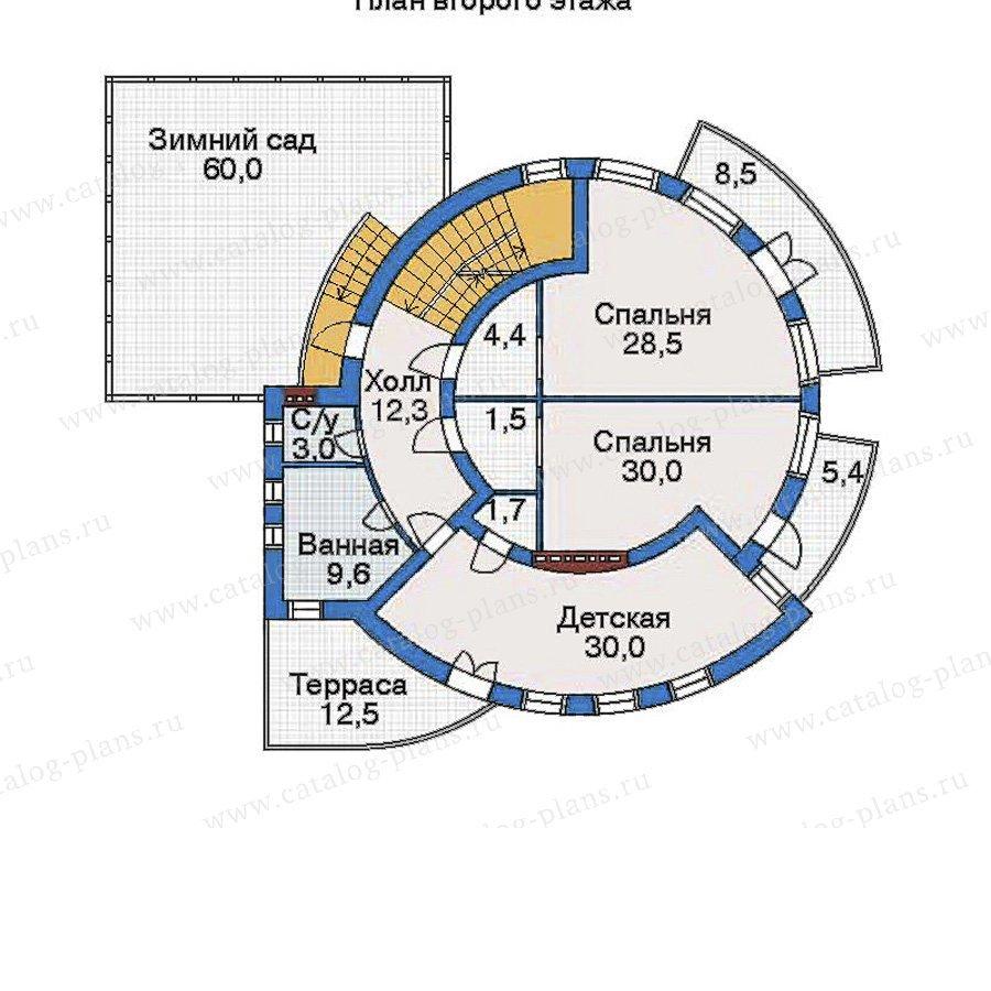 План 3-этажа проекта 33-99