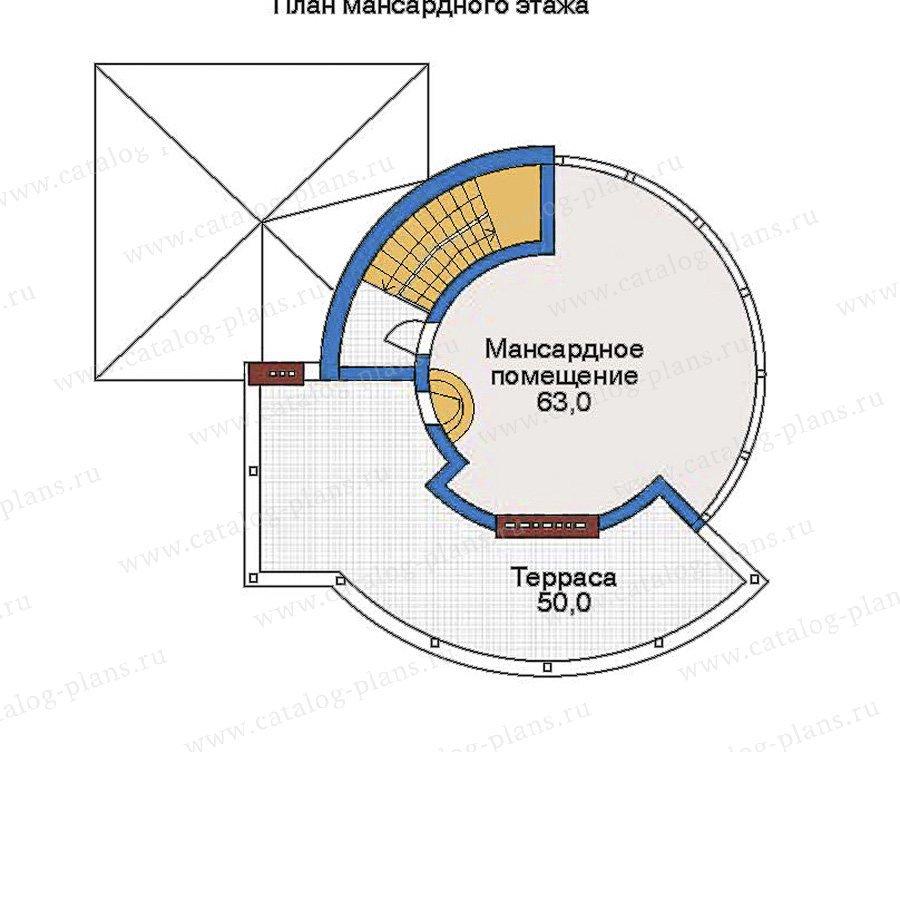 План 4-этажа проекта 33-99