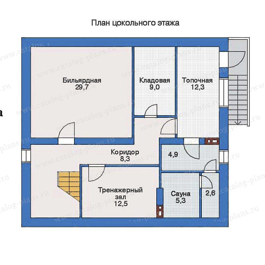 План 1-этажа проекта 33-30