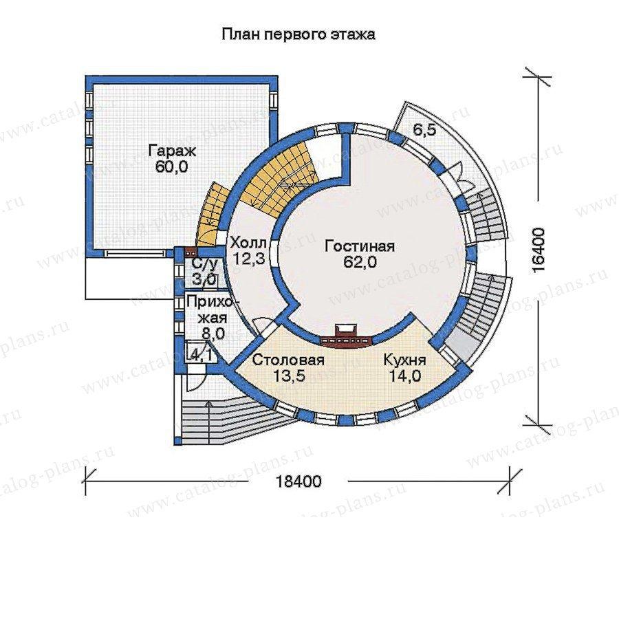 План 2-этажа проекта 33-99