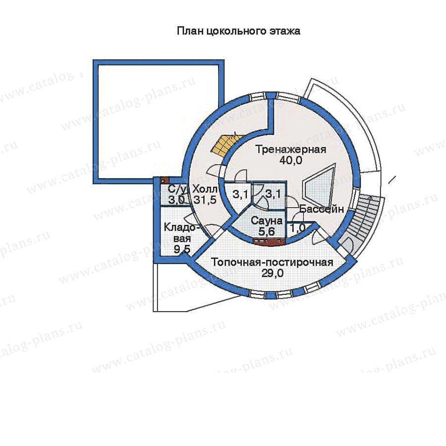 План 1-этажа проекта 33-99