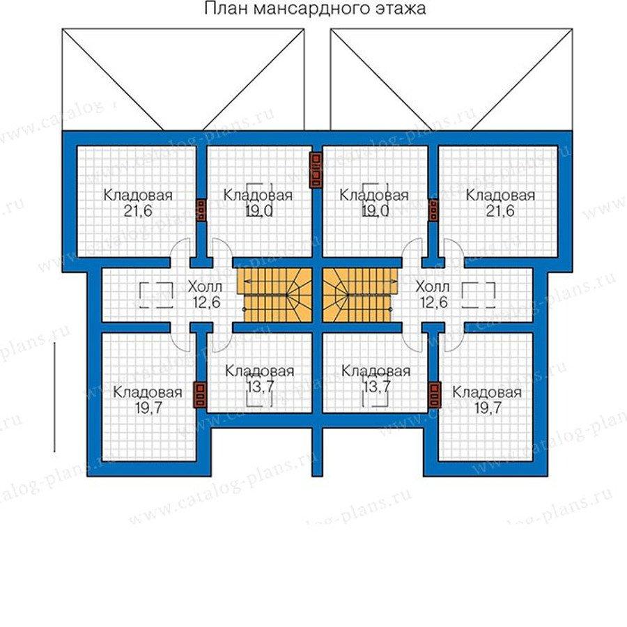 План 3-этажа проекта 48-34G