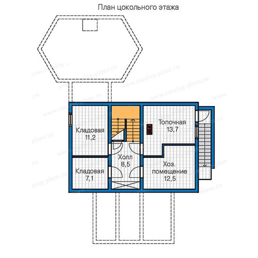 План 1-этажа проекта 13-31