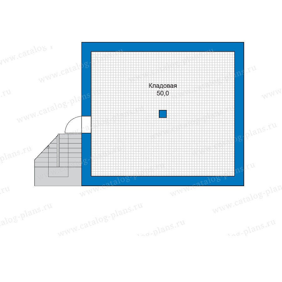 План 1-этажа проекта 48-18G