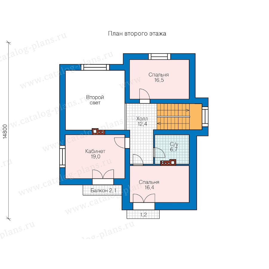 План 2-этажа проекта 47-54