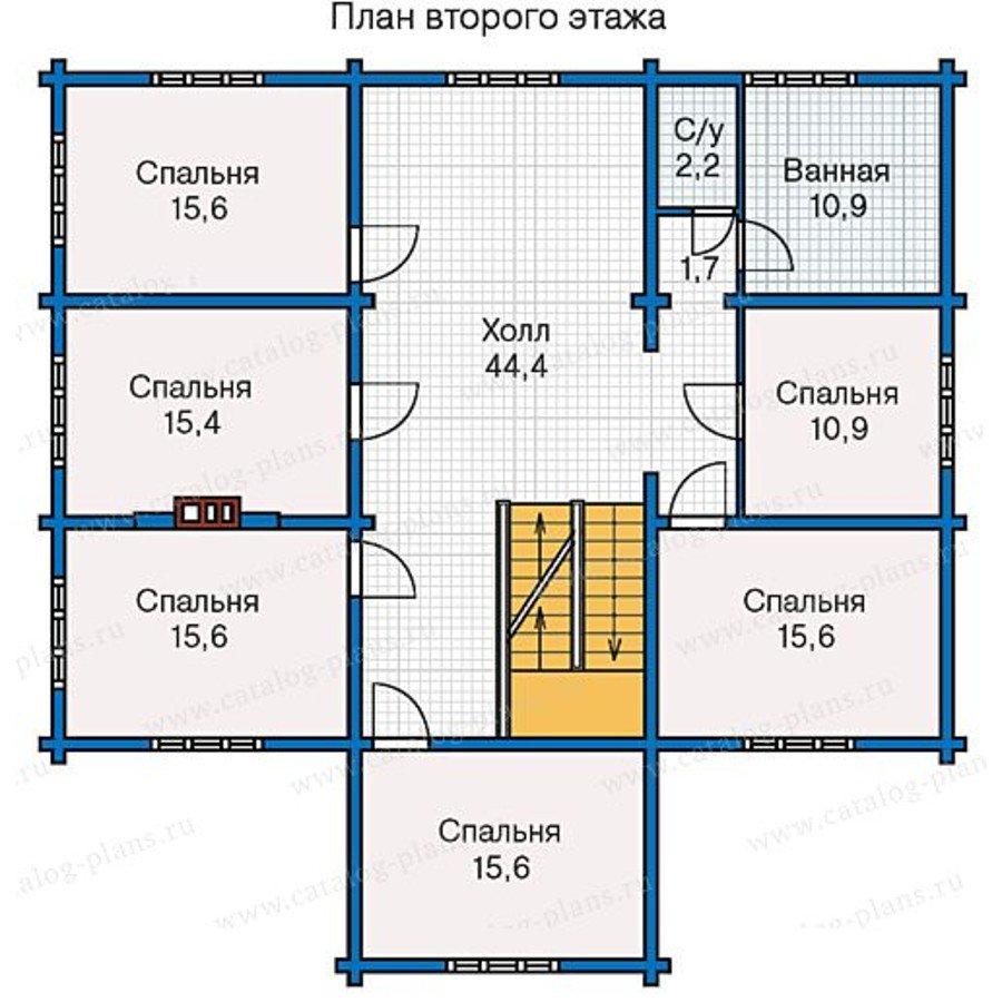 План 3-этажа проекта 13-28