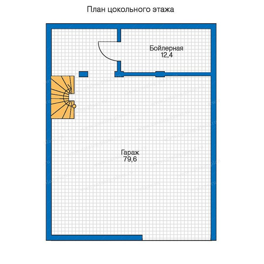 План 1-этажа проекта 13-37