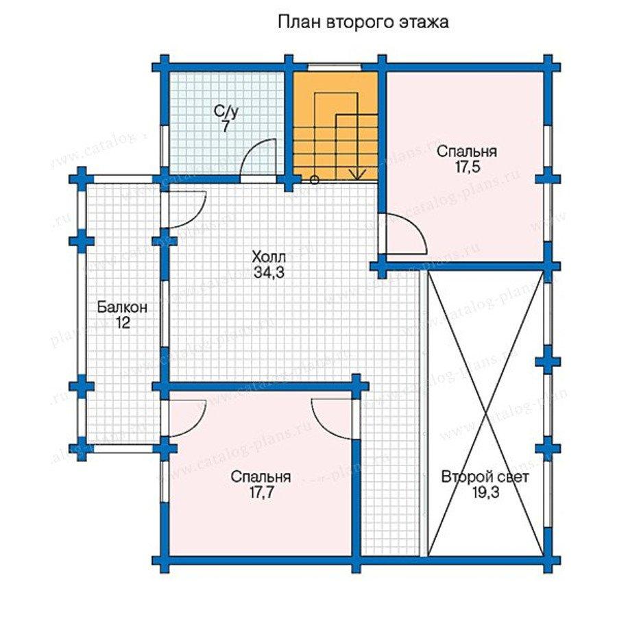 План 3-этажа проекта 13-37