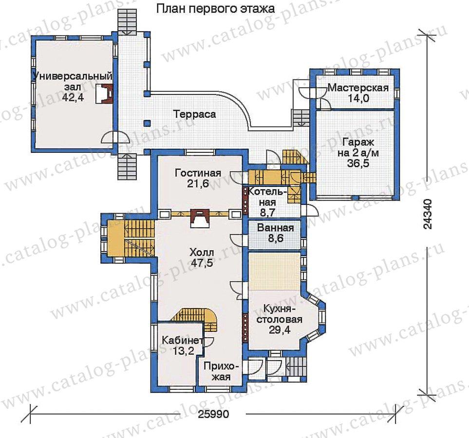 План 2-этажа проекта 33-48