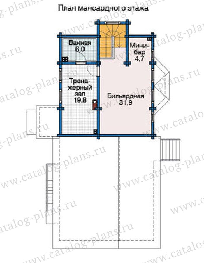 План 3-этажа проекта 12-21