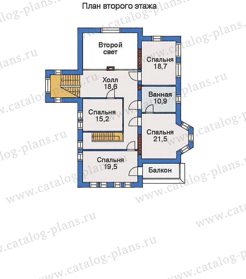 План 3-этажа проекта 33-48