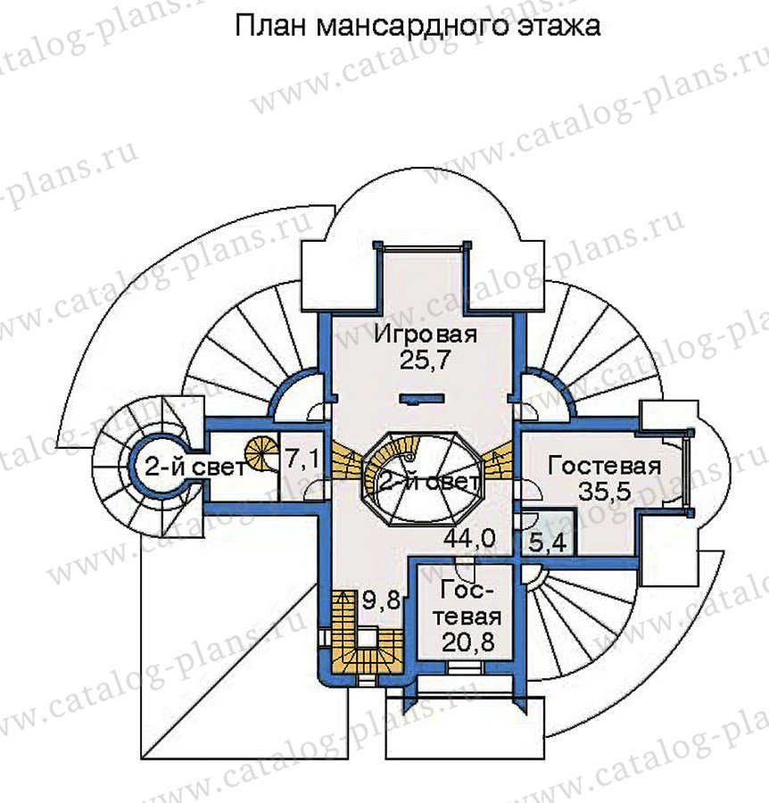 План 4-этажа проекта 36-24