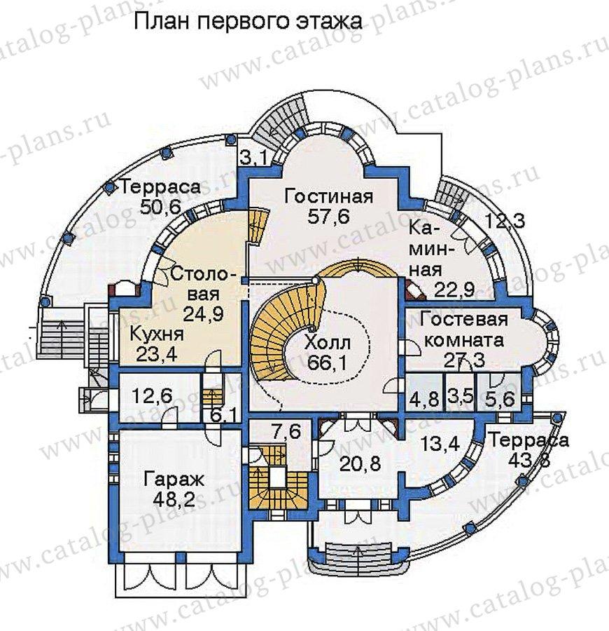 План 2-этажа проекта 36-24