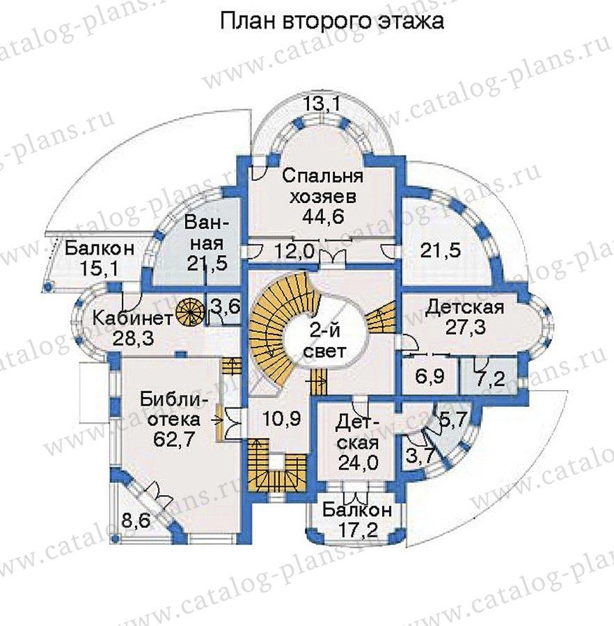 План 3-этажа проекта 36-24