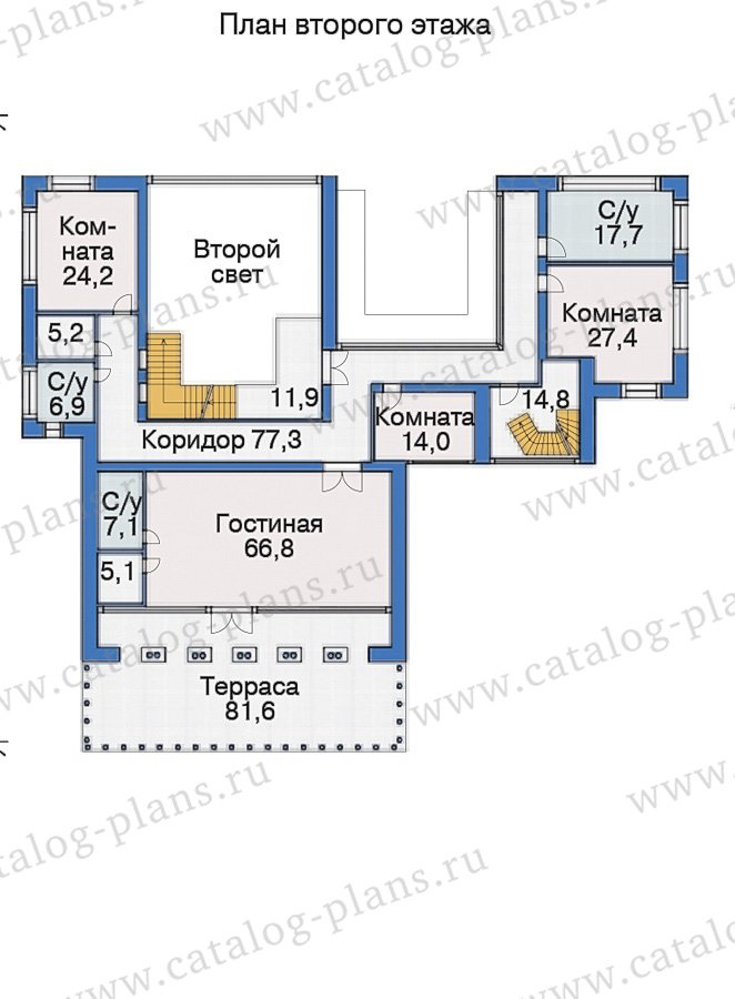 План 3-этажа проекта 38-24