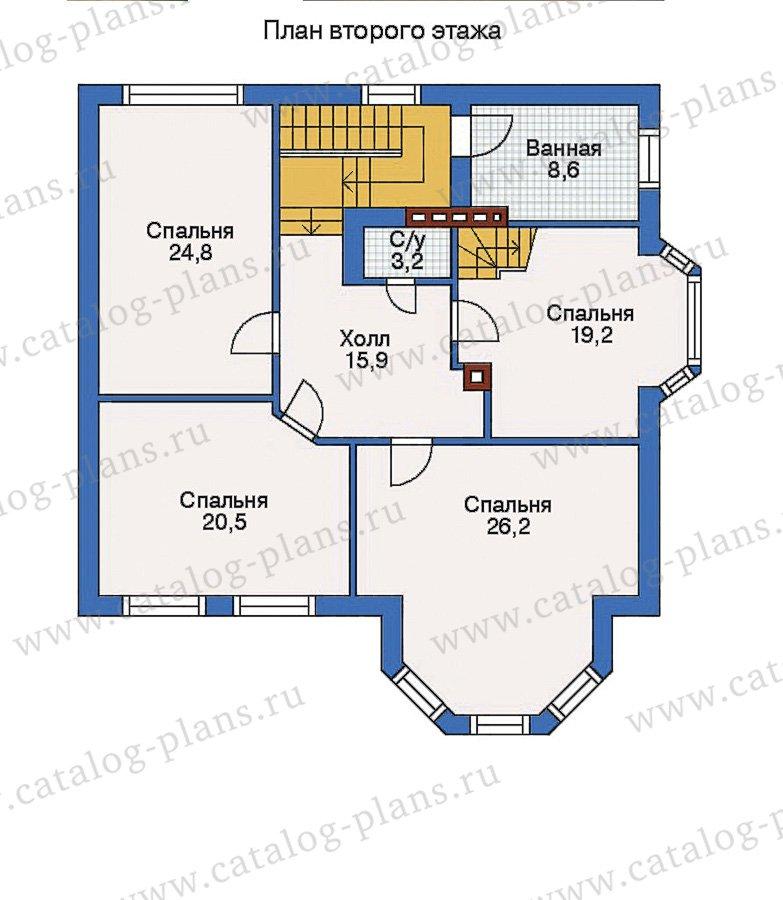 План 3-этажа проекта 31-89