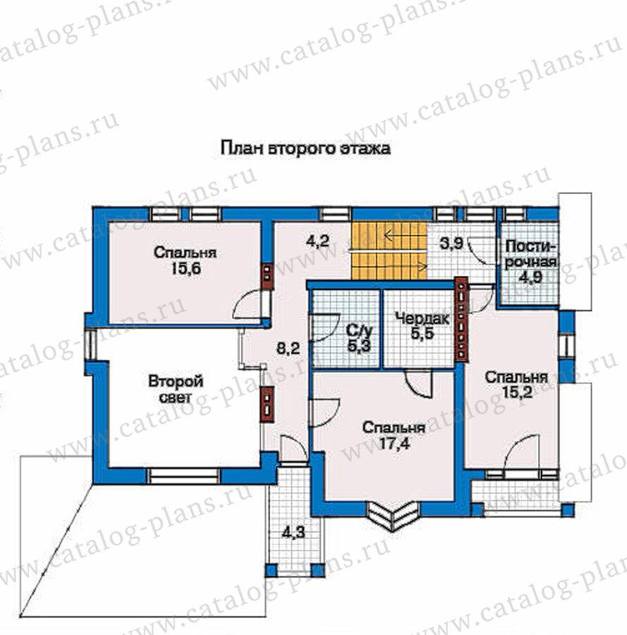План 3-этажа проекта 50-92