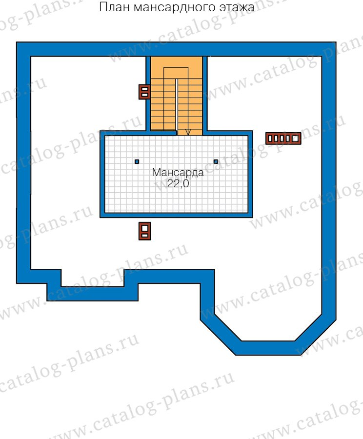 План 3-этажа проекта 40-11DL