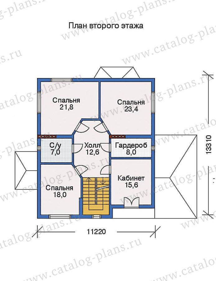 План 3-этажа проекта 31-75