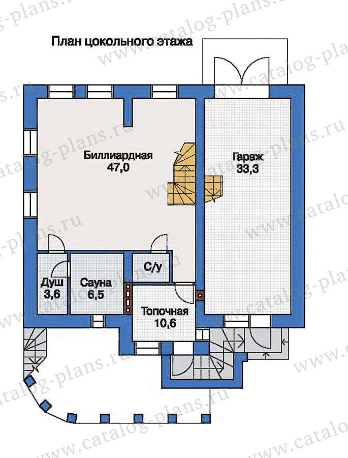 План 1-этажа проекта 33-54