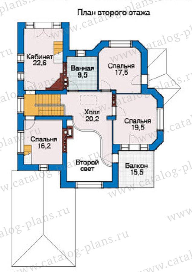 План 3-этажа проекта 31-41