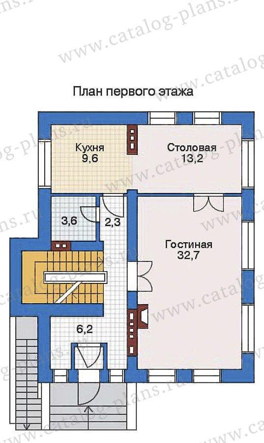 План 2-этажа проекта 32-41