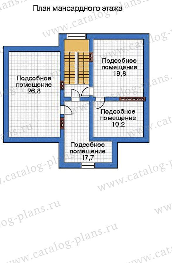 План 4-этажа проекта 32-48