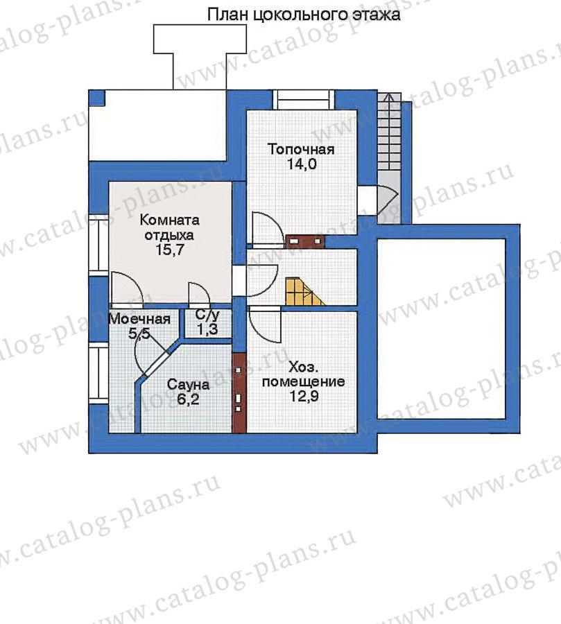 План 1-этажа проекта 33-83