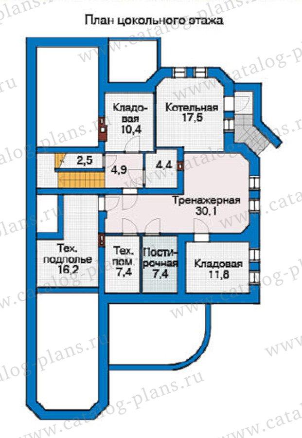 План 1-этажа проекта 31-41